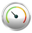 A speed meter vector image vector image