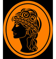 Greek woman vector | Price: 1 Credit (USD $1)
