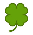 lucky irish clover for st patricks day vector image vector image