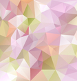pastel purple colored abstract polygon triangular vector image vector image