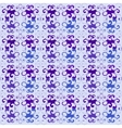 Seamless floral purple pattern vector image vector image