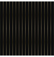 striped pattern - seamless luxury gold vector image vector image