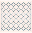 gray traditional geometric quatrefoil trellis vector image