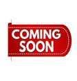 coming soon banner design banner design vector image