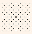 geometric halftone pattern with rounded squares vector image
