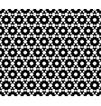 monochrome seamless pattern texture with hexagons vector image vector image