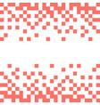 abstract background with white pixels on vector image vector image