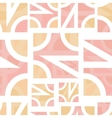 Abstract geometric seamless vector image vector image