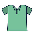green t shirt wear vector image
