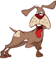 hunting dog Cartoon vector image vector image