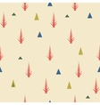 Seamless pattern Old retro minimal background vector image vector image