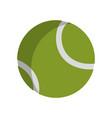 tennis ball design vector image vector image