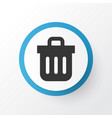 trash can icon symbol premium quality isolated vector image vector image