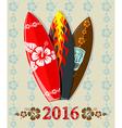 aloha surf 2016 vector image vector image