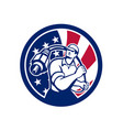 American cable installer usa flag icon