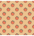 Background made of oranges vector image