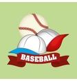 Baseball design sport and supplies vector image vector image
