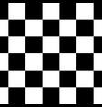 black white checkered seamless repeating pattern vector image