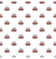 bowling club pattern seamless vector image vector image