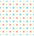christmas pattern design background vector image