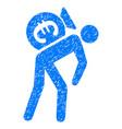 euro financial courier grunge icon vector image vector image