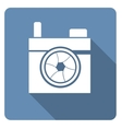 Hipster photo or camera vector image