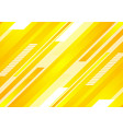 minimal technology bright yellow abstract vector image vector image