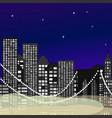 seamless city newyork vector image