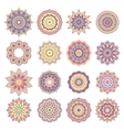 Set of Oriental Abstract Elements vector image