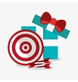 Target toy and game design vector image vector image