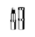 Lipstick Lips Makeup The Beauty Industry vector image