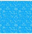 Blue plumbing services background vector image