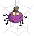 Cartoon Character Happy Spider vector image