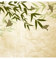 Chinese bamboo design vector image vector image