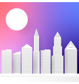 city paper abstract multi-colored background for vector image vector image