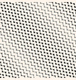 diagonal halftone mesh seamless pattern grid net vector image vector image