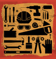 industrial equipment background vector image vector image