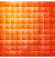 Orange abstract background of dotted vector image