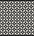 seamless pattern with mosaic tiles monochrome vector image vector image