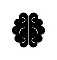 brain icon sign on isolate vector image