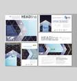 black color geometric design hexagonal geometry vector image