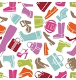 Fashion shoes pattern vector image vector image
