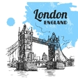London bridge vector image vector image