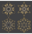 ornamental Mandala set Round pattern vector image