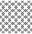 seamless pattern based on japanese woodwork vector image vector image