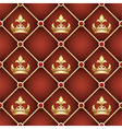 Seamless upholstery pattern vector image vector image