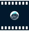 Soap bubble icon vector image