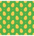 Tile pattern with easter eggs and polka dots vector image vector image