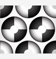 abstract circles with alternating colors seamless vector image