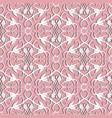 elegance damask seamless pattern ornamental vector image
